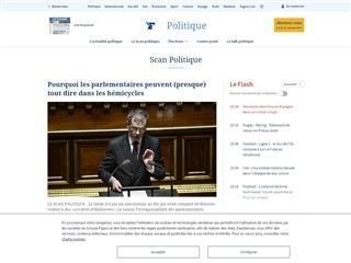 Le Figaro : Le Scan Politique
