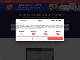 Filae.com : recherches