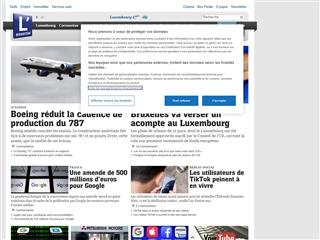 L'Essentiel.lu.fr : Economie