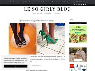 Le So Girly Blog : Mode