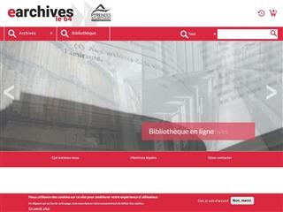 Pyrénées-Atlantiques (64) - Archives départementales