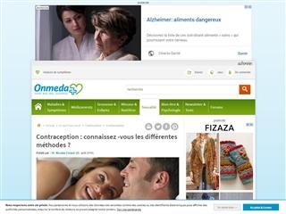 Santé-AZ : Contraception
