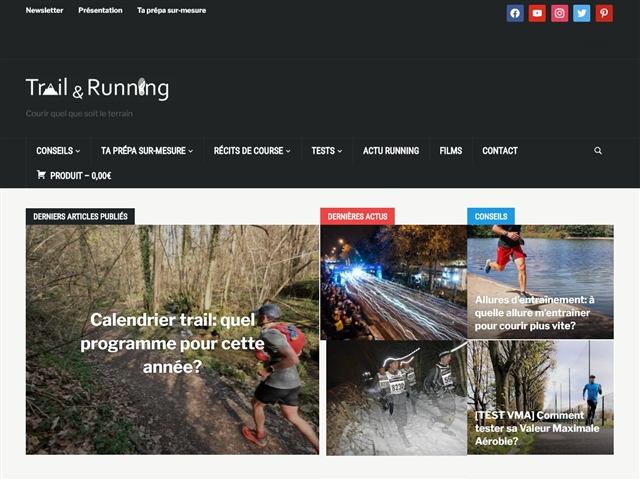 Trail & Running