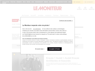 Le Moniteur : Architecture