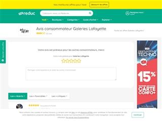 Ma-reduc.com : Galeries Lafayette