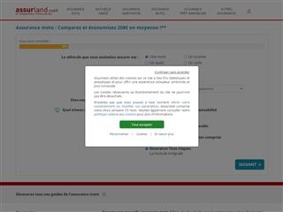 Assurland : assurance moto