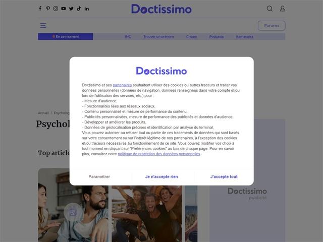 Doctissimo : Psycho
