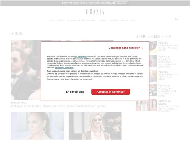 Grazia : Mode Femme