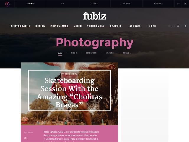 Fubiz : Photographie