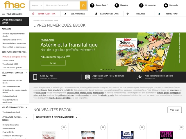 Fnac : Ebooks