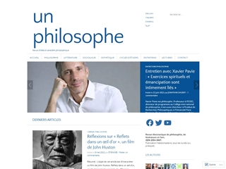 Un philosophe
