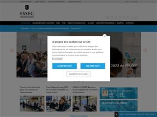 École supérieure des sciences économiques et commerciales (ESSEC)