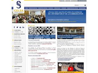École des hautes études en sciences de l'information et de la communication (Celsa)