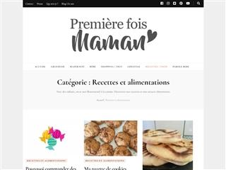 Première Fois Maman : Recettes / Alimentation