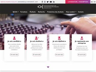 École de journalisme et de communication de Marseille (EJCM)