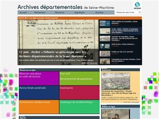 Seine-Maritime (76) - Archives départementales