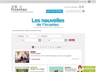 LES NOUVELLES DE L'IRCANTEC