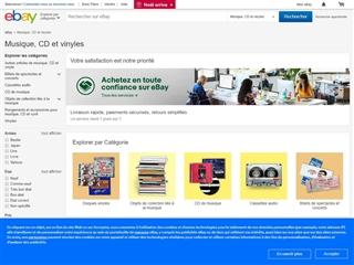 EBay : Billets de spectacles