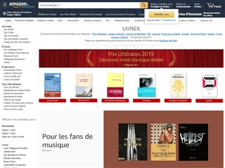 Amazon : Livres