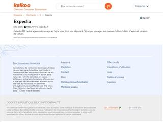 Kelkoo : Expedia