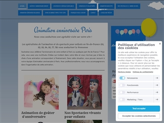 Animations anniversaire