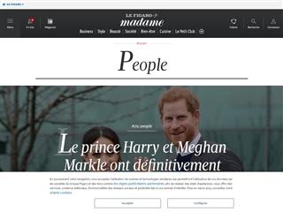 Madame Figaro : People