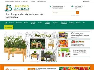 Vente en ligne de plantes et fleurs pour le jardin for Vente en ligne jardin