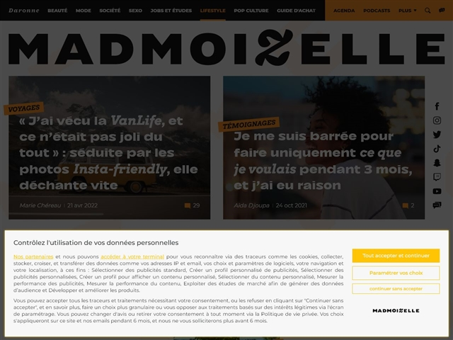 Mademoizelle : Voyages