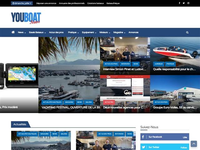 Youboat : actualité