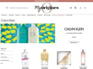 Origines Parfums : Calvin Klein