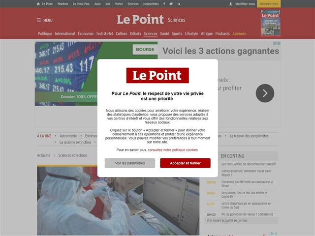 Le Point : Science