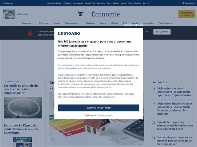 Le Figaro : Impôts
