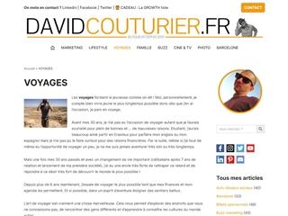 DAVIDCOUTURIER.FR : voyages
