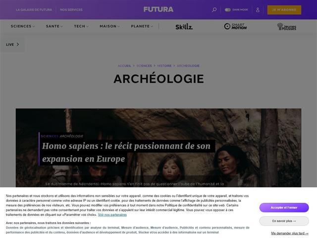 Futura Sciences : Archéologie