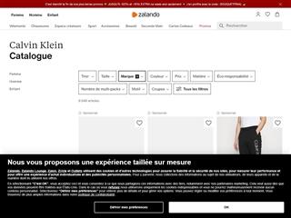 Zalando : Calvin Klein