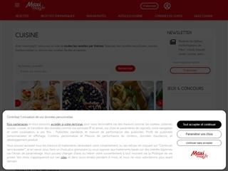 Maxi Mag : Cuisine