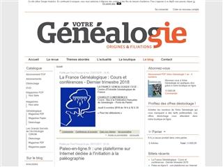Votre Généalogie : le blog