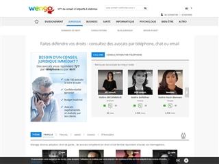 Wengo : Conseil juridique