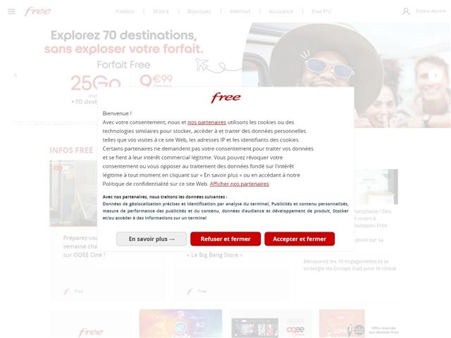 Free : Le Portail
