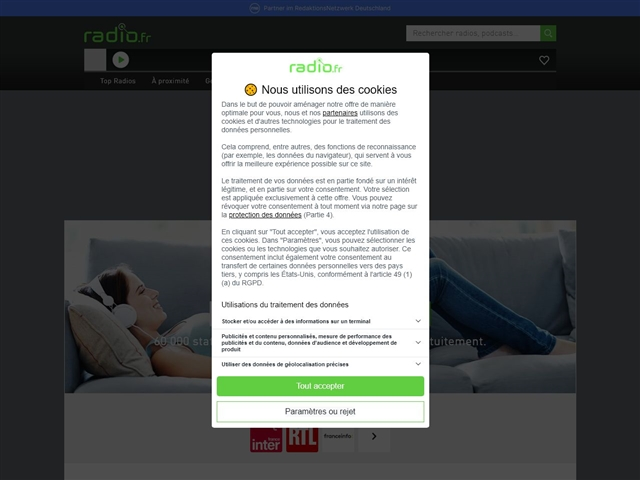 Radio FM en ligne