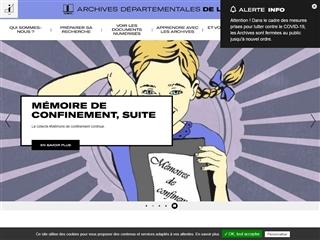 Isère (38) - Archives départementales