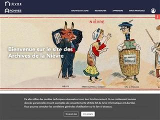 Nièvre (58) - Archives départementales