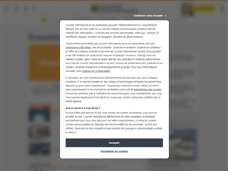 Courrier International : Economie