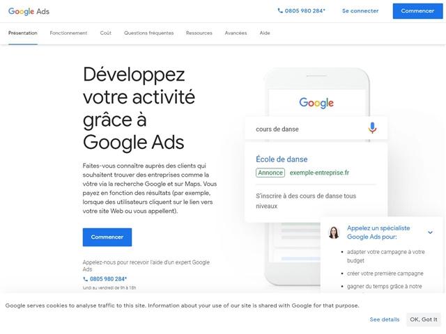 Google : AdWords - AdSense