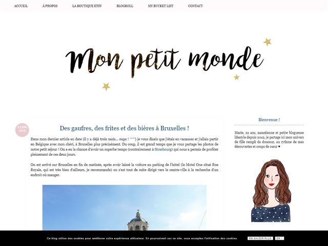 Mon Petit Monde : Bonnes Adresses