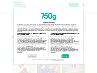 750 g : cuisine du monde