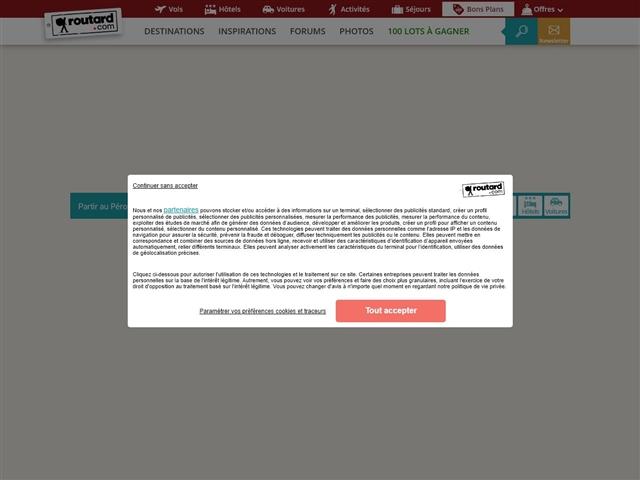 Routard.com : Pérou