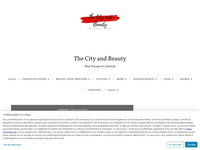 The City and Beauty : Mes Lectures