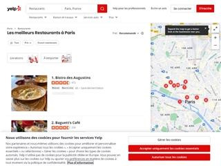 Yelp : Restaurants Paris