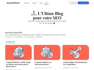 SEO Quantum : Blog